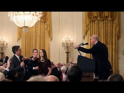Φραστικό επεισόδιο Τραμπ με δημοσιογράφο – Του πήραν και την διαπίστευση για τον Λευκό Οίκο…