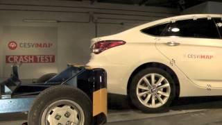 Crash test trasero Hyundai i40