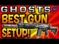 Call of Duty: Ghosts - BEST GUN SETUP! Ali-A's Favourite Class! - (COD Ghost Multiplayer)