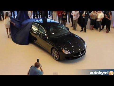 2014 Maserati Quattroporte Unveiling in Newport Beach