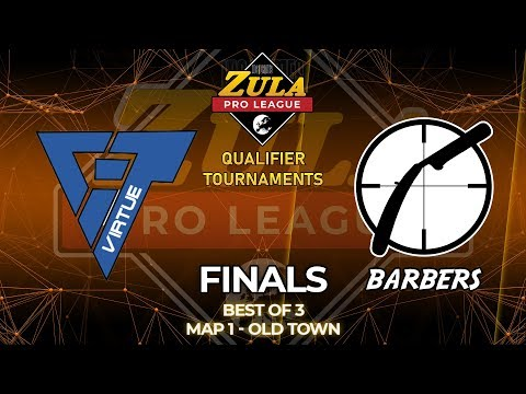 VirtuE vs BARBERS | MAP 1 | Zula Europe Pro League Qualifier Tournament 1 - FINALS Bo3