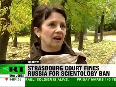RussiaToday : Strasbourg fines Russia for Scientology Ban 10. 02.09