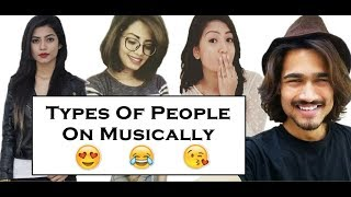 Video Types of People On Musically Ft. Nagma, Aashika, Bhuvan Bam and Disha Madan MP3, 3GP, MP4, WEBM, AVI, FLV Mei 2018