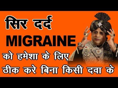 Cure Migraine Without Any Medicine : Sanyasi Ayurveda