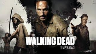 The walking dead cuarta temporada - Trailer Review