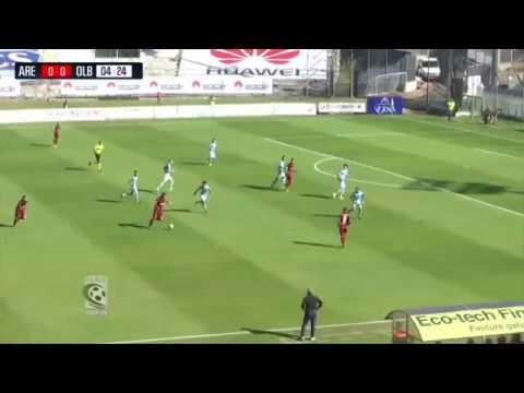 Arezzo-Olbia 0-1, le immagini della partita