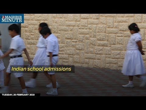 The demand for admissions to Indian schools has slumped to a five-year low