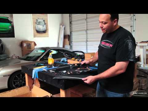Real Carbon Fiber Lamination 'wrap' VS. Vinyl Wrap