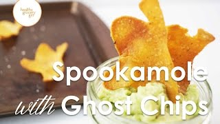 Spookamole With Ghost Chips