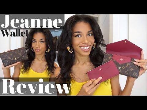 LOUIS VUITTON JEANNE WALLET REVIEW  |  First Impressions, What Fits + Thoughts!  |  KWSHOPS