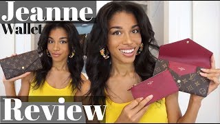 Video LOUIS VUITTON JEANNE WALLET REVIEW     First Impressions, What Fits + Thoughts!     KWSHOPS MP3, 3GP, MP4, WEBM, AVI, FLV Juni 2018