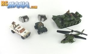 Medal Of Honor RC Battle Series Reviewed - Tank, Helicopter, Truck, ATV