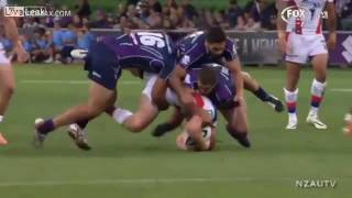 Dec 4, 2016 ... Alex McKinnon, Atleta de Rugby fica tetraplégico após jogada ... Alex McKinnon nwill sue the NRL and Melbourne Storm player Jordan McLean over tackle - nDuration: 15:07. ... NRL 2013 Semi Finals Alex McKinnon vs. Jordan ...