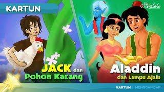 Video JACK DAN POHON KACANG + ALADDIN DAN LAMPU AJAIB cerita anak anak animasi kartun MP3, 3GP, MP4, WEBM, AVI, FLV Oktober 2018