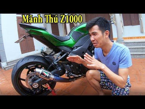 PHD | Đầu Tư $1000 Độ Z1000 Thần Thánh | Moto Tuning - Thời lượng: 17:21.