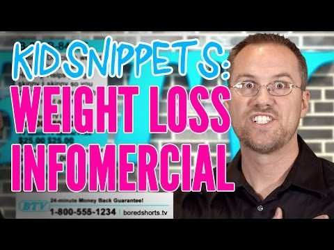 "Kid Snippets: ""Weight Loss Infomercial"" (Imagined by Kids)"