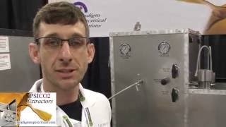 CO2 Shatter - PSICO2  Extractor @ Cannabis Business Summit & Expo by Urban Grower