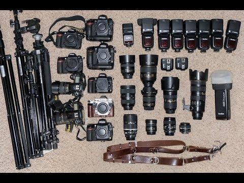Camera Equipment for the Wedding Photographer (видео)