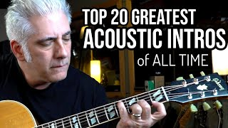 Video TOP 20 ACOUSTIC GUITAR INTROS OF ALL TIME MP3, 3GP, MP4, WEBM, AVI, FLV Juli 2019