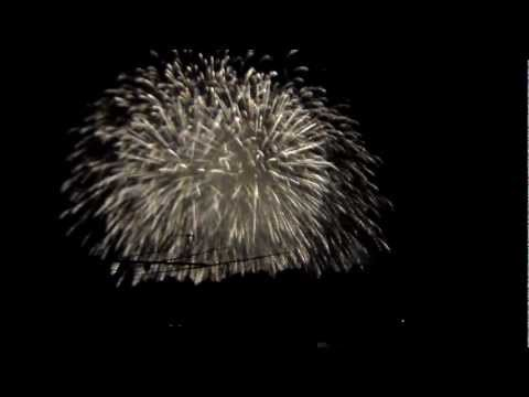 I fuochi d'artificio di Verbania