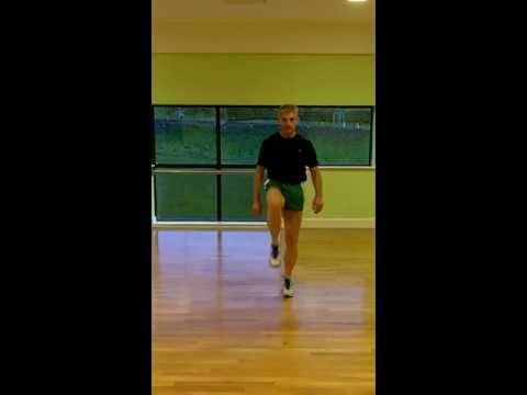 3 Point Lunge - Front View
