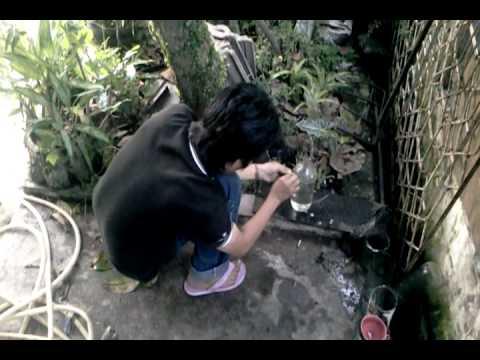 Cara memotong botol kaca