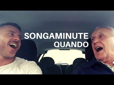 男生和他的失智症爸爸坐進車裡後音樂聲響起,接著79歲老爸一開口大家就聽到停不下來!