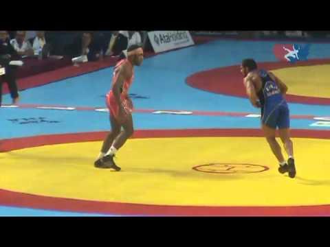 2011 Worlds Freestyle 74kg Final - Jordan Burroughs (USA) vs. Sadegh Goudarzi (IRI)