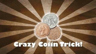 LIVE MAGIC! - Craziest Coin Trick EVER