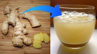 How to Make Ginger Beer to Reduce Pain and Inflammation (Similar to Root Beer)