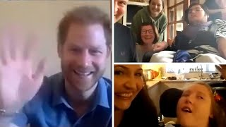 video: Prince Harry calls on British government to do more for 'vulnerable' children in videocall from LA