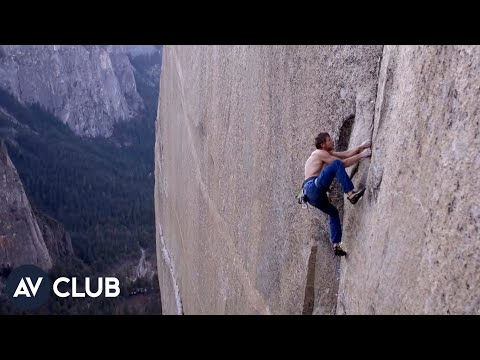 How do you make a movie on a 3,000-foot sheer rock face?