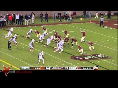 Ladarius Gunter vs Florida St. 2013 video.