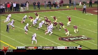 Ladarius Gunter vs Florida State (2013)