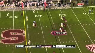 Andrew Luck vs Notre Dame (2011)
