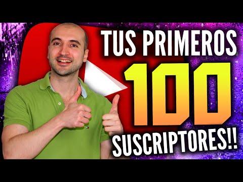 Cómo Conseguir Tus Primeros 100 Suscriptores en YouTube!