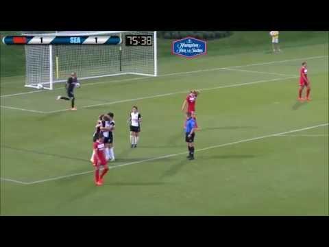 Highlight: Sydney Leroux's First Reign FC Goal (видео)