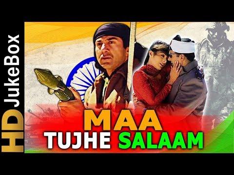 Video Maa Tujhhe Salaam (2002) | Full Video Songs Jukebox | Sunny Deol, Arbaaz Khan, Tabu download in MP3, 3GP, MP4, WEBM, AVI, FLV January 2017