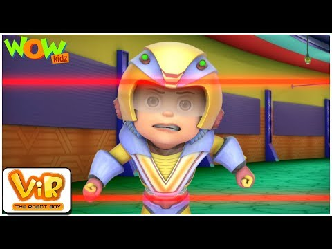 Madmax's UFO | Vir: The Robot Boy WITH ENGLISH, SPANISH & FRENCH SUBTITLES | WowKidz