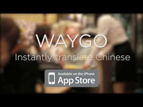 Video of Waygo ***Demo***