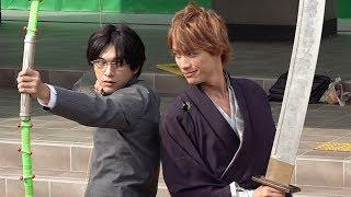 一護(福士蒼汰)&雨竜(吉沢亮)の共闘シーン/映画『BLEACH』メイキング1