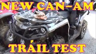 4. New 2014 CAN-AM OUTLANDER 800 MAX REVIEW...FEATURED CHANNEL.....CUBBEEZX