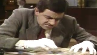 MrBean - Mr Bean - Library book ruined