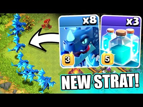 A NEW 3 STAR STRATEGY!? - Clash Of Clans - TOWN HALL 12 3 STAR STRATEGY!