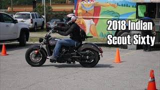 7. 2018 Indian Scout Sixty! | Indian Demo Day