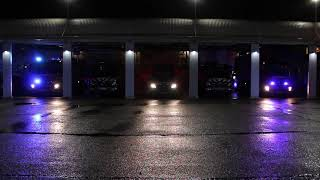 Holenderska straż pożarna życzy Wesołych Świąt