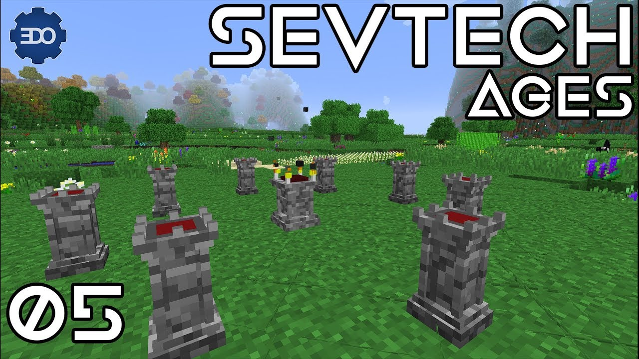 SevTech: Ages |  Ep 5 | AbyssalCraft Ritual Day!!!
