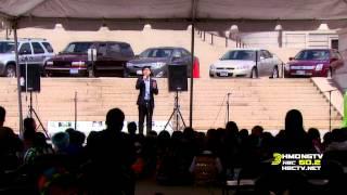 Cody Lee sings at Hmong American Day, May 14, 2014.