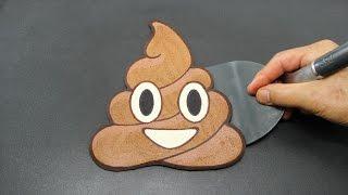Poop PANCAKE POO Emoji