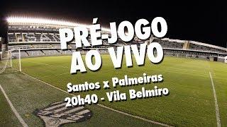 É DIA DE CLÁSSICO NO ALÇAPÃO! Hoje, o Santos recebe o Palmeiras, pela sétima rodada do Brasileirão 2017! Na Santos TV...